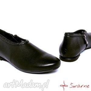 ręczne wykonanie buty marysienki - krótkie sztyblety
