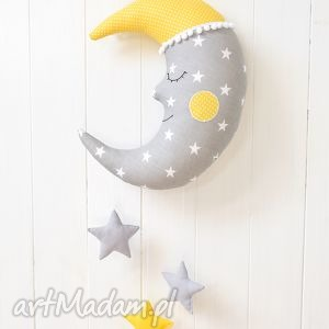 Księżyc z gwiazdkami, księżyc, girlanda, karuzela, gwiazdki, gwiazda, zabawka