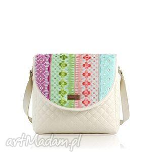 wyjątkowy prezent, torebka puro 479 embroidery, puro, klapka, klapkomania, embroidery