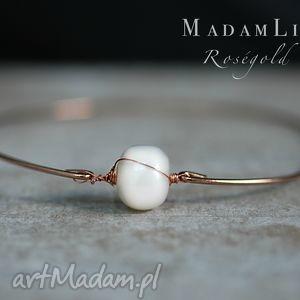 madamlili słodkowodna perła - bransoletka, biżuteria prezent
