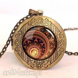 zen - sekretnik z łańcuszkiem - biżuteria, prezent, szklana