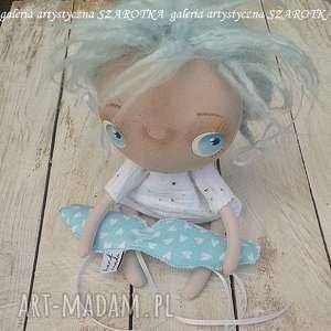 aniołek lalka - dekoracja tekstylna, seria cute angel, ooak