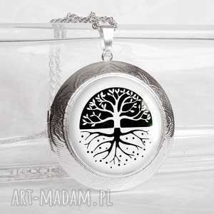 magic tree otwierany medalion sekretnik na prezent - sekretnik, pendant
