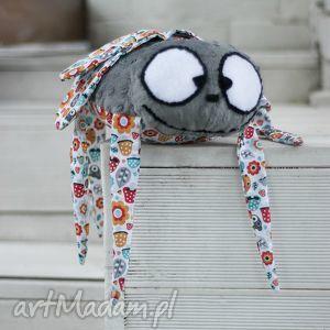 pan mucha- wyjątkowa maskotka handmade - mucha, maskotka, nietypowe, minky, zabawka