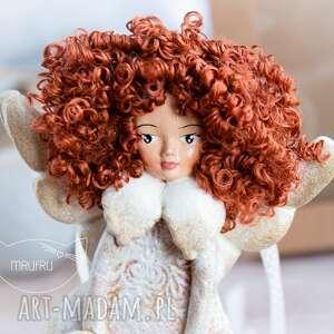 hand-made pokoik dziecka przepiękny anioł stróż. Personalizowany podarek na każdą