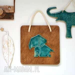 słonik ceramika, słoń, słonik, afrykańskie, zwierzęta, ceramiczny