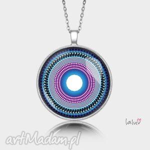 medalion okrągły peace mandala - pokój, harmonia, grafika, symbol, medytacja