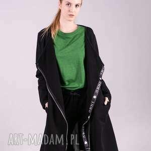 Bluza długa margos-czarna bluzy trzyforu bluzy, sukienki, kurtka