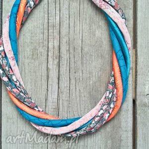 ręcznie robione naszyjniki kolorowy naszyjnik na lato