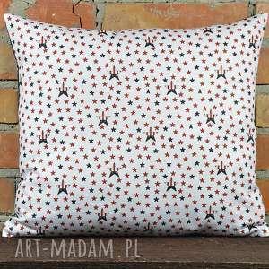 Prezent Poduszka dekoracyjna z motywem 40x45cm, poduszki, poszewka, prezent, bawełna
