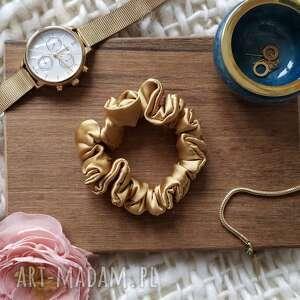 świąteczne prezenty, gumka jedwabna złota, gumka, jedwabna, złota