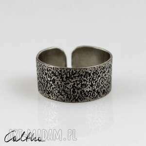 Piasek - metalowa obrączka 130620 -08 obrączki caltha