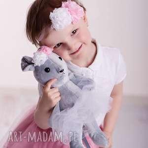 przytulanka dziecieca mysz w spódniczce - mysz na prezent, myszka hand made, dekoracja