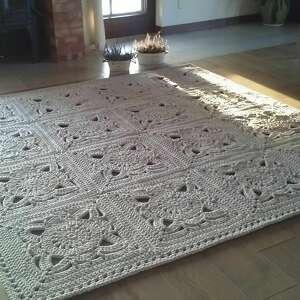 artedania dywan ornament 220 cm x cm, kwadrat, prostokąt