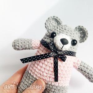 hand-made dla dziecka miś eustachy