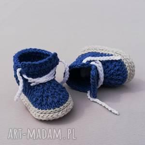 prezent na święta, buciki carleton, buciki, trampki, niemowlęce, dziergane