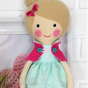 Prezent MALOWANA LALA NICOLA, lalka, zabawka, przytulanka, prezent, niespodzianka