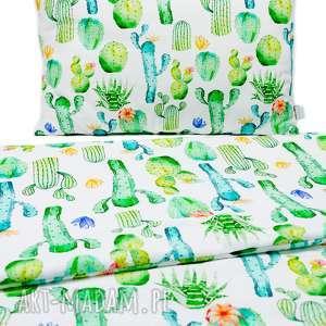 Pościel z wypełnieniem M KAKTUSY, pościel, dziecko, poduszka, kołderka, kaktusy,