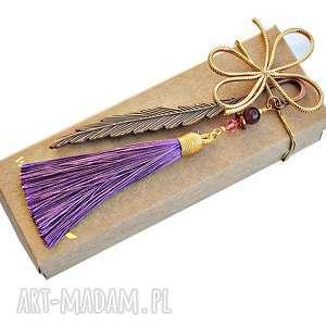 Prezent Niezwykły prezent dla Czytelniczki - zakładka z chwostem, zakładka, chwost
