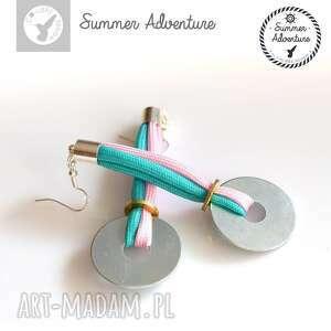 kolczyki summer adventure - model georgia, nowoczesne, designerskie
