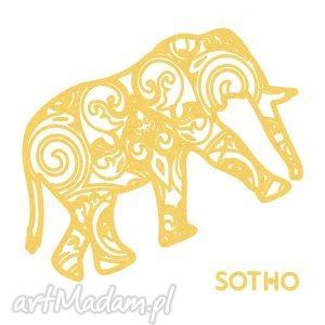 tatuaż ze złotym metalicznym indyjskim słoniem, tatuaż, tattoo, słoń, złoty