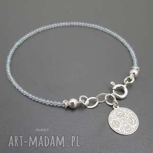 topaz -delikatna ii, srebro, topaz, delikatna biżuteria