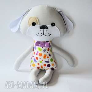 Pies Kejter - Heniu 44 cm, pies, kejter, chłopczyk, maskotka, cukierek, urodziny