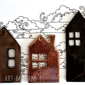 domki ceramika, domki, domek, ceramiczny, unikalny prezent