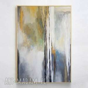 abstrakcja-obraz akrylowy formatu 50/70 cm, abstrakcja, akryl, obraz