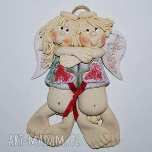 Prezent Silne więzy - zakochane aniołki , prezent, ślub, jubileusz, dekoracja, anioły