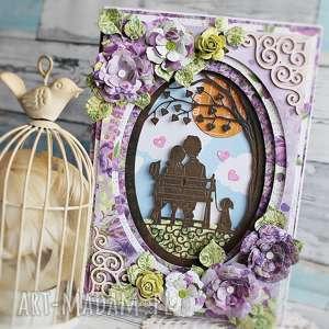 zakochana karteczka, walentynki, ślub, rocznica, wesele, kartka, a5