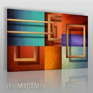 obrazy obraz na płótnie - ramy abstrakcja 120x80 cm 44601, ramy, ramki, rama