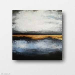 paulina lebida abstrakcja-obraz akrylowy formatu 50/50 cm, abstrakcja, obraz