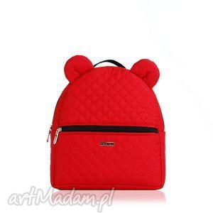 plecaczek farbiś czerwony, plecaczek, mały, dzieci, uszy, lekki torebki