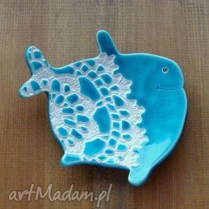 folk wieloryb - mydelniczka, łazienka, folk, ludowy, wieloryb, morskie