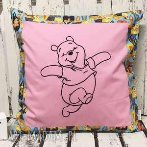 Poduszka z haftem 40x40cm MIŚ KUBUŚ, kubuś, puchatek, miś, misio, poduszka