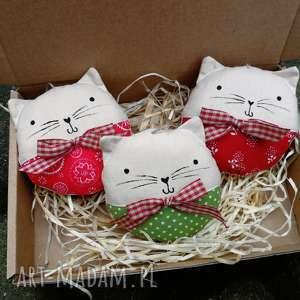 kocie bombki - zawieszka, bombka kotek, cat
