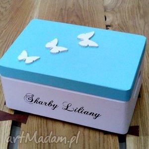 pokoik dziecka pudełko skrzynia na zabawki personalizowane, pudełkowspomnień, kuferek