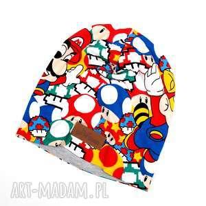 czapka mario beanie kolorowa geek, czapka, mario, luigi, beanie
