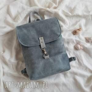 damski plecak velvet, na laptopa, plecak, do pracy, mini