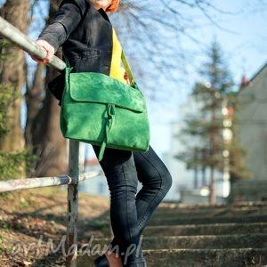 surowa baronowa zielona zamszowa, skóra, zamsz, zieleń, soczysta, świeża, wiosenna