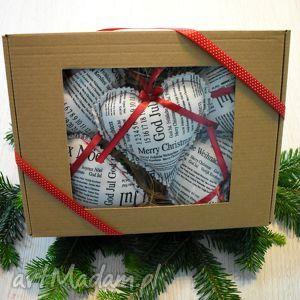 ręcznie robione świąteczny prezent zawieszki na choinkę