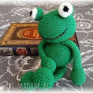 handmade maskotki żaba żabol - na prezent!