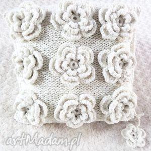 poduszka robione ręcznie wełna 40x40 cm 1szt, poduszka, poduszki, wełna, handmade