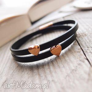 ręczne wykonanie bransoletki bransoletka skórzana - derfo