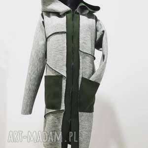 Płaszcz limitowana kolekcja, bawełniane, oryginalne, płaszcz, wdzianko, narzutka