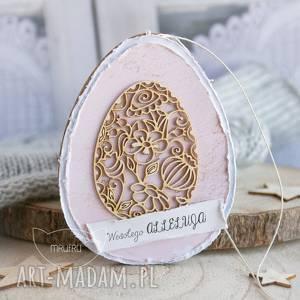 scrapbooking kartki wielkanocne jajo uroczy podarek na wielkanoc lub dekoracja