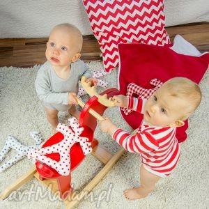 hand-made zabawki zabawka pan łosiek - truskawkowy groszek