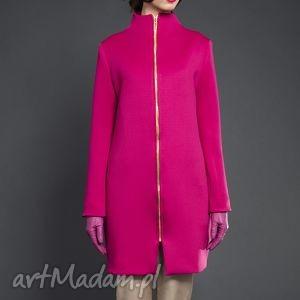 płaszcze różowy płaszczyk, valentimo, klasyczny, elegancki