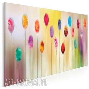 obraz na płótnie - abstrakcja kolory 120x80 cm (41901)